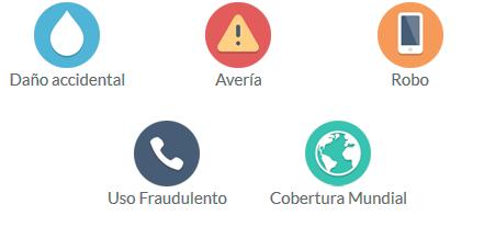 Coberturas Seguros para Smartphones